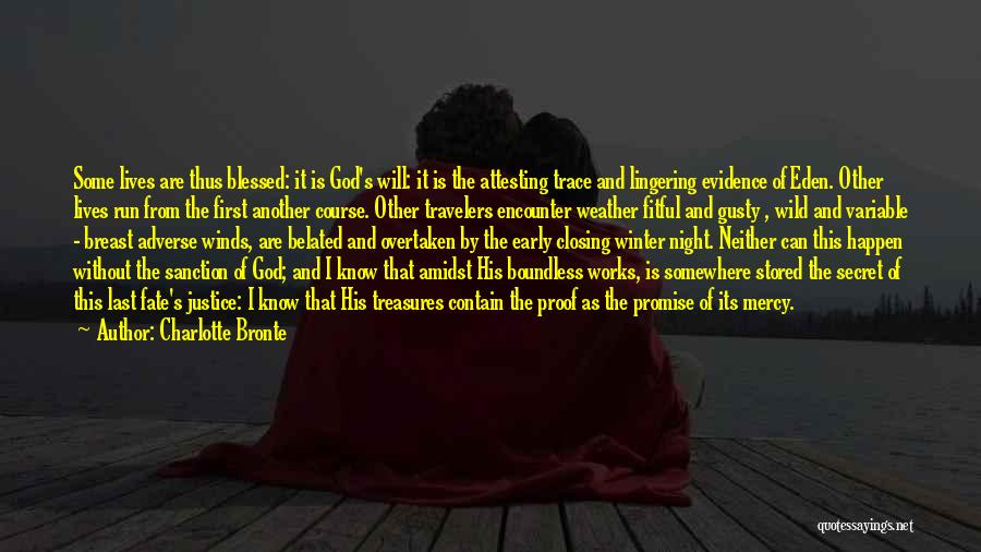 Blessed By God Quotes By Charlotte Bronte