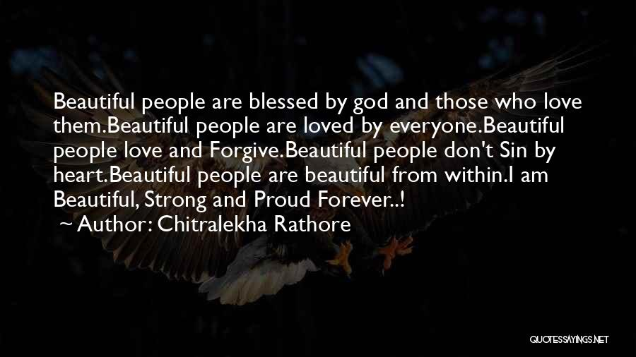 Blessed By God Quotes By Chitralekha Rathore