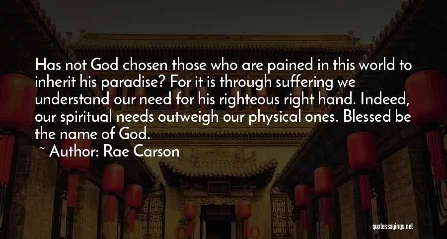 Blessed Indeed Quotes By Rae Carson