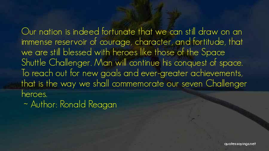 Blessed Indeed Quotes By Ronald Reagan