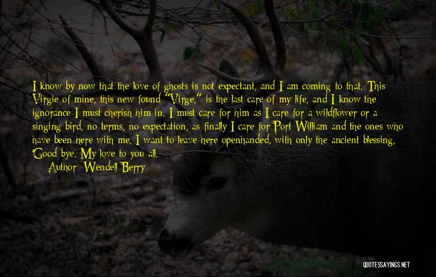 Blessing In My Life Quotes By Wendell Berry