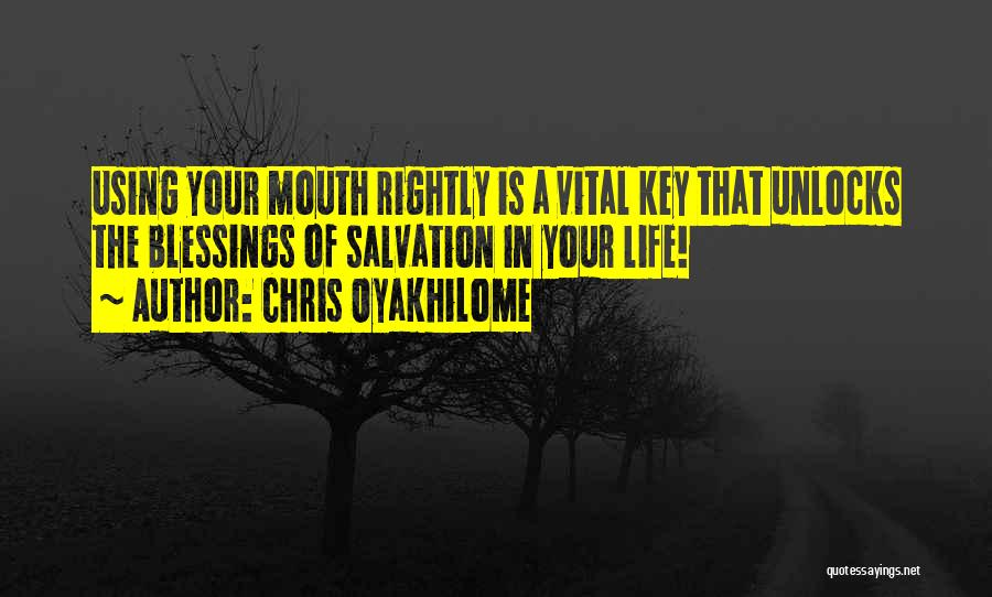 Blessings In Your Life Quotes By Chris Oyakhilome