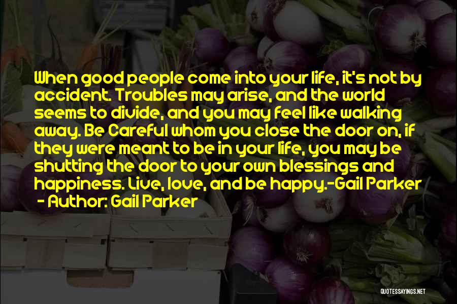 Blessings In Your Life Quotes By Gail Parker