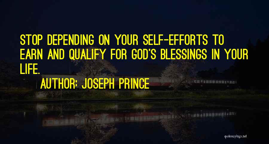 Blessings In Your Life Quotes By Joseph Prince