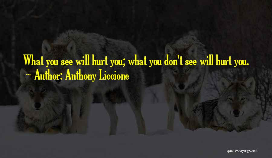 Blinded To The Truth Quotes By Anthony Liccione