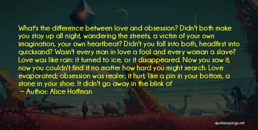 Blink Of An Eye Love Quotes By Alice Hoffman