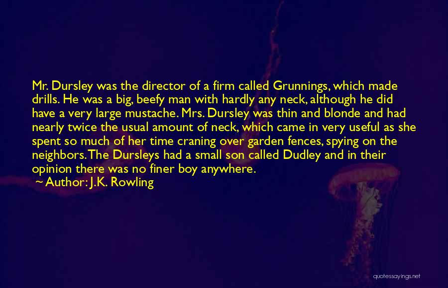 Blonde Quotes By J.K. Rowling