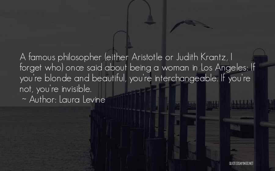 Blonde Quotes By Laura Levine