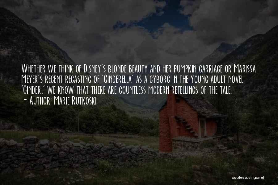 Blonde Quotes By Marie Rutkoski