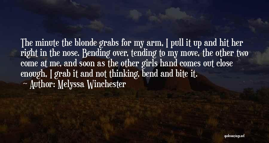 Blonde Quotes By Melyssa Winchester