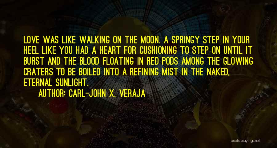 Blood Red Quotes By Carl-John X. Veraja