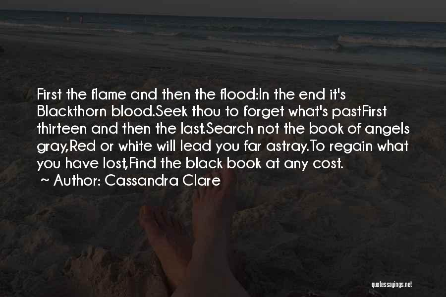 Blood Red Quotes By Cassandra Clare