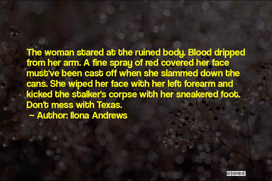 Blood Red Quotes By Ilona Andrews