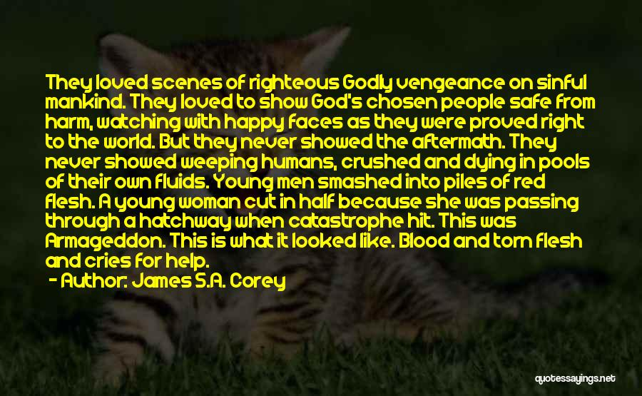Blood Red Quotes By James S.A. Corey