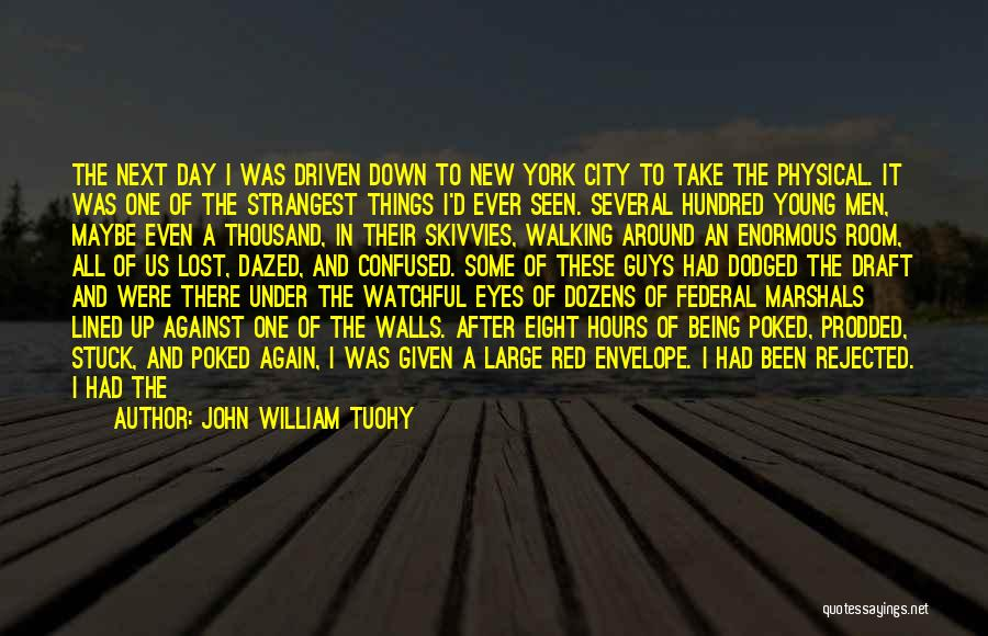 Blood Red Quotes By John William Tuohy
