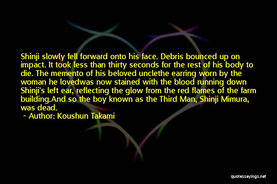 Blood Red Quotes By Koushun Takami