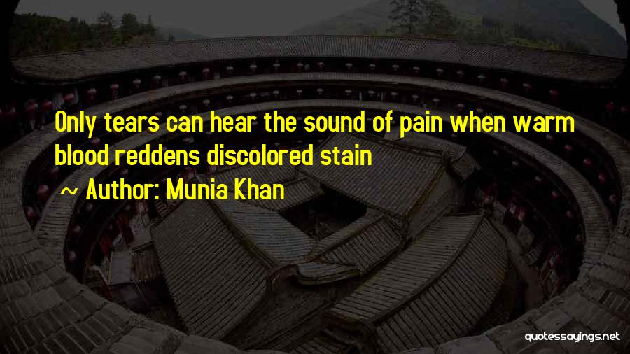 Blood Red Quotes By Munia Khan