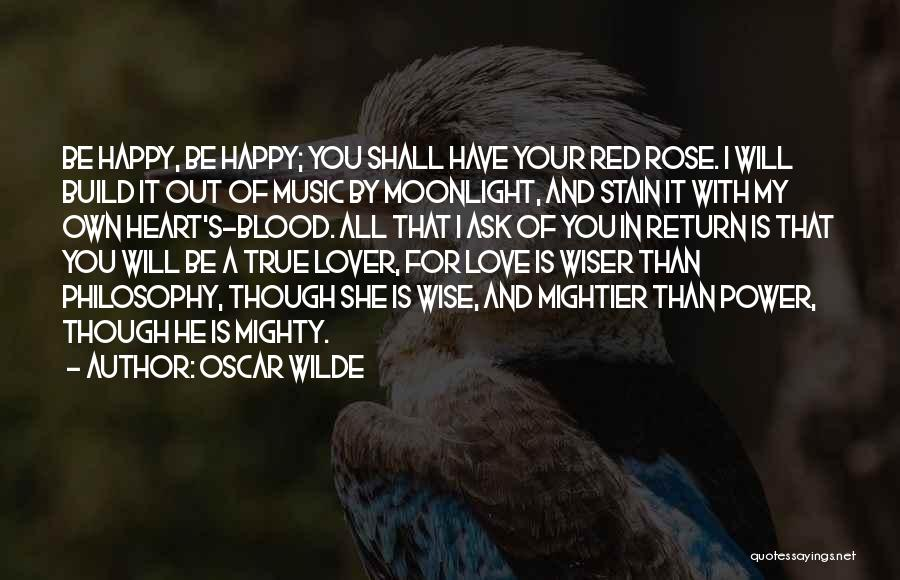 Blood Red Quotes By Oscar Wilde