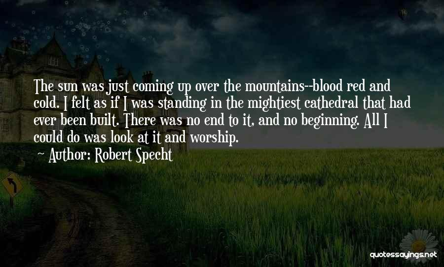 Blood Red Quotes By Robert Specht