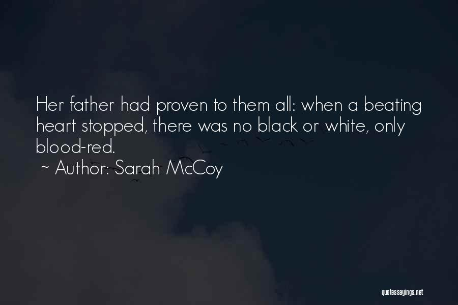 Blood Red Quotes By Sarah McCoy