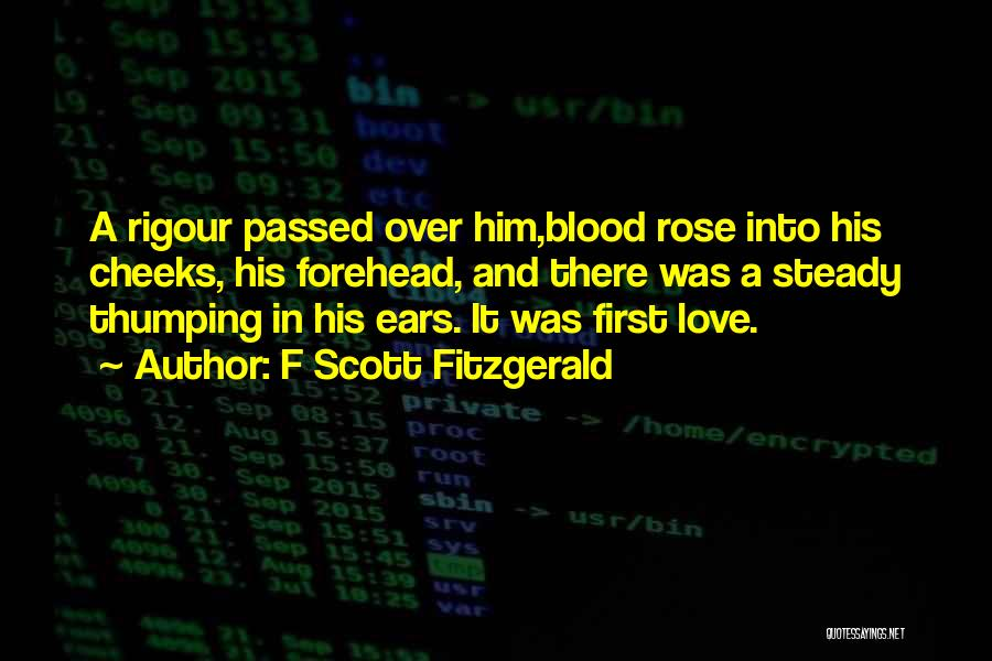 Blood Rose Quotes By F Scott Fitzgerald