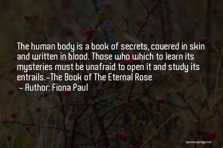 Blood Rose Quotes By Fiona Paul