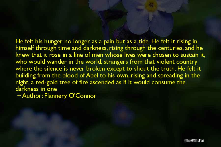 Blood Rose Quotes By Flannery O'Connor