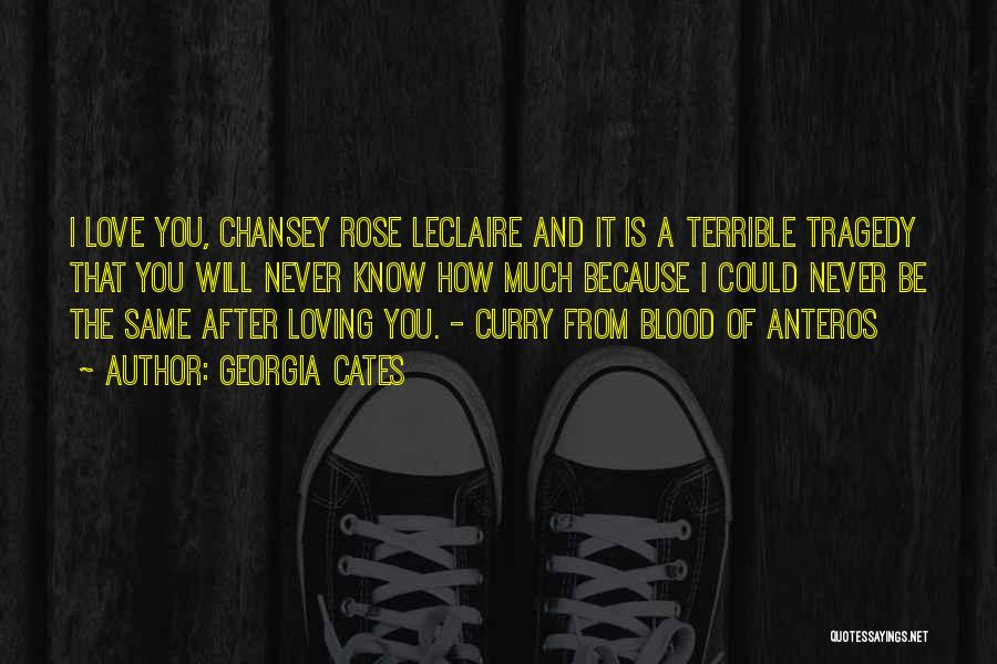 Blood Rose Quotes By Georgia Cates