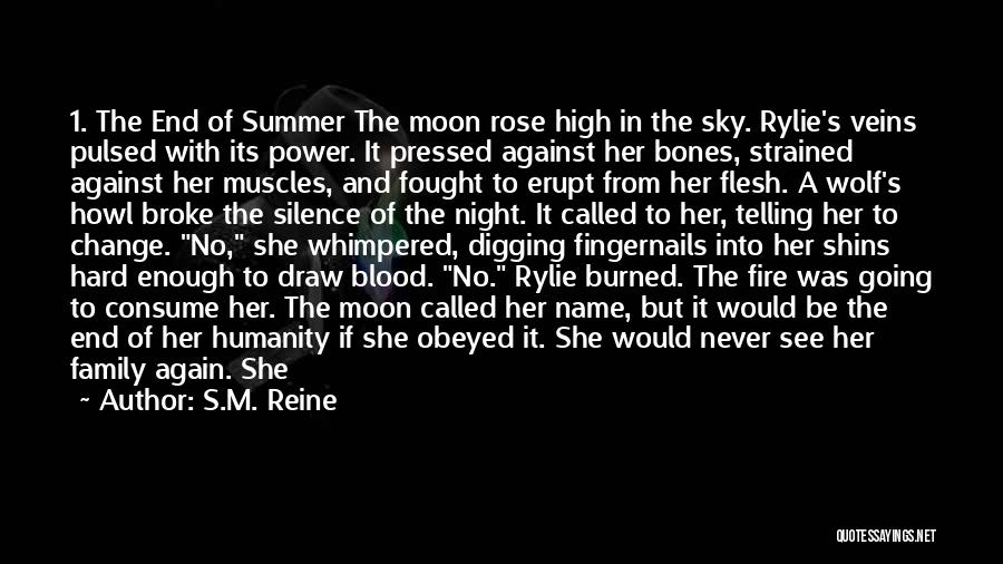 Blood Rose Quotes By S.M. Reine