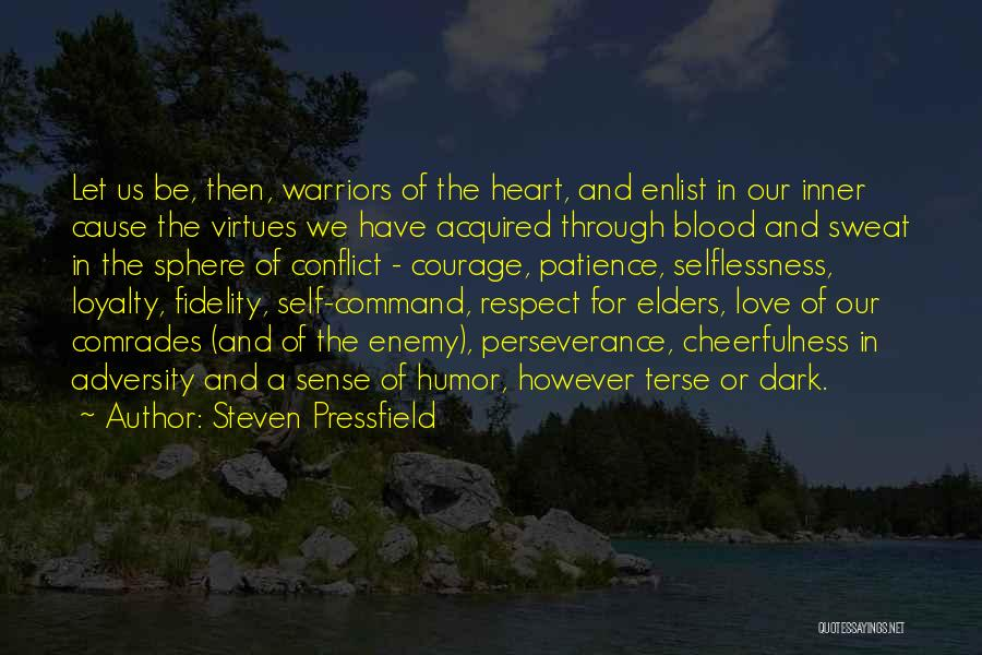 Blood Sweat And Respect Quotes By Steven Pressfield