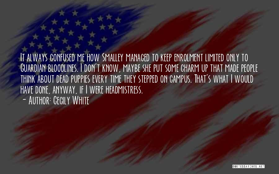 Bloodlines 2 Quotes By Cecily White