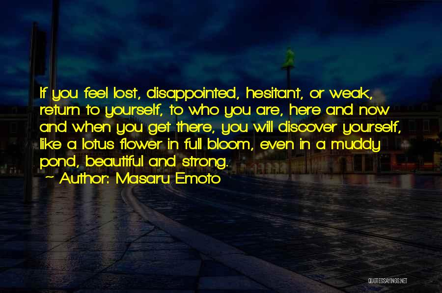 Bloom Like Flower Quotes By Masaru Emoto