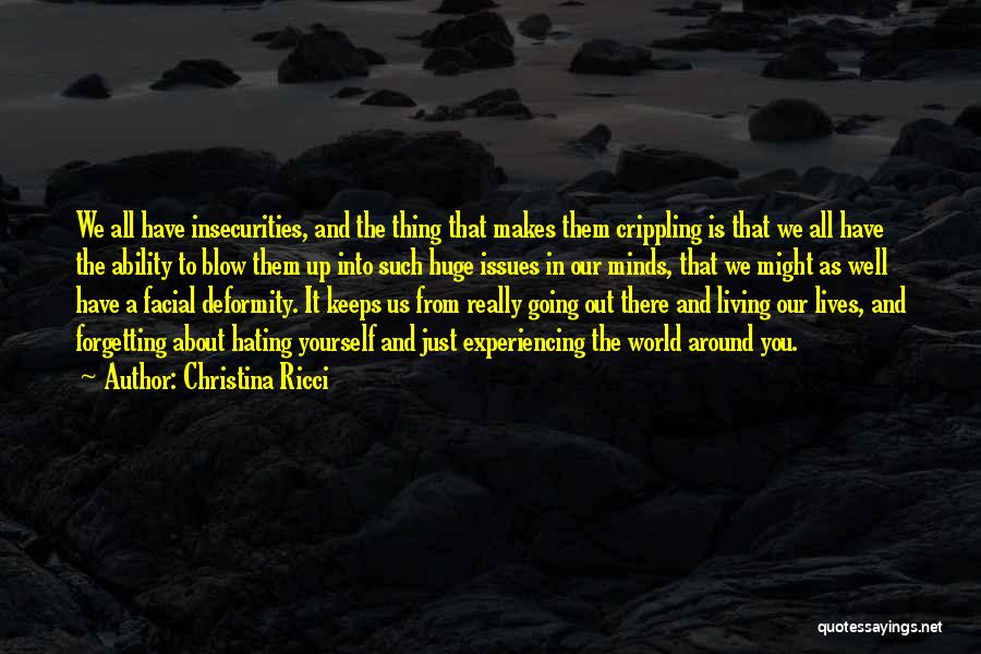 Blow When You Re Up Quotes By Christina Ricci