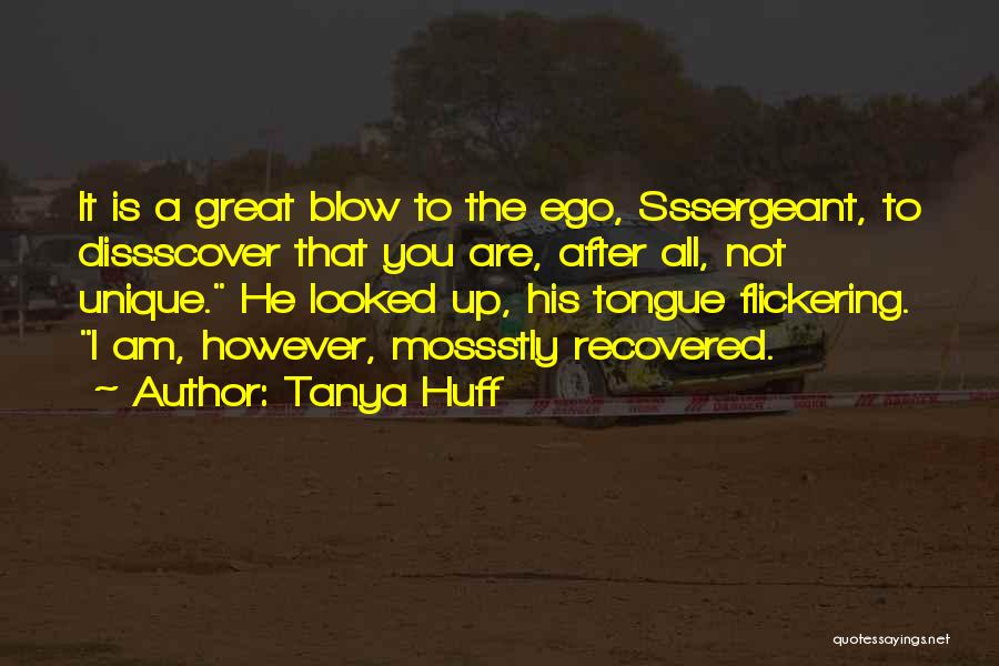 Blow When You Re Up Quotes By Tanya Huff