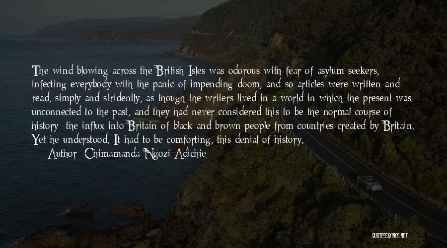Blowing O's Quotes By Chimamanda Ngozi Adichie
