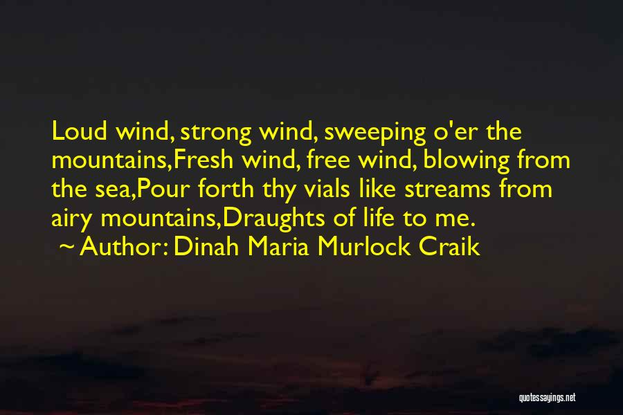 Blowing O's Quotes By Dinah Maria Murlock Craik
