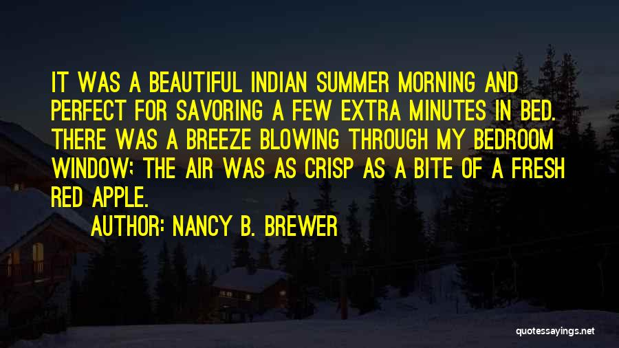 Blowing O's Quotes By Nancy B. Brewer