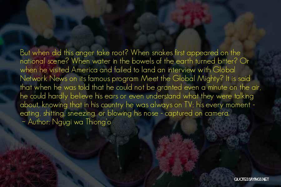 Blowing O's Quotes By Ngugi Wa Thiong'o