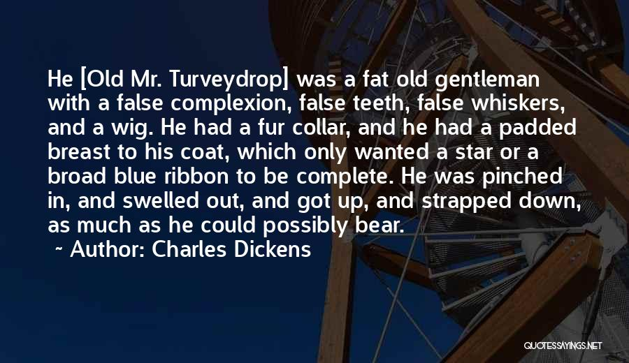 Blue Bear Quotes By Charles Dickens