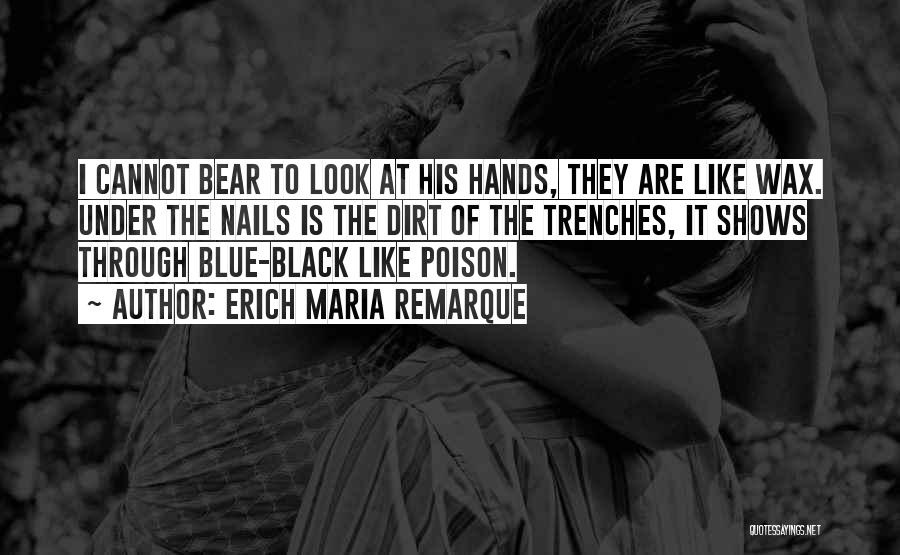 Blue Bear Quotes By Erich Maria Remarque