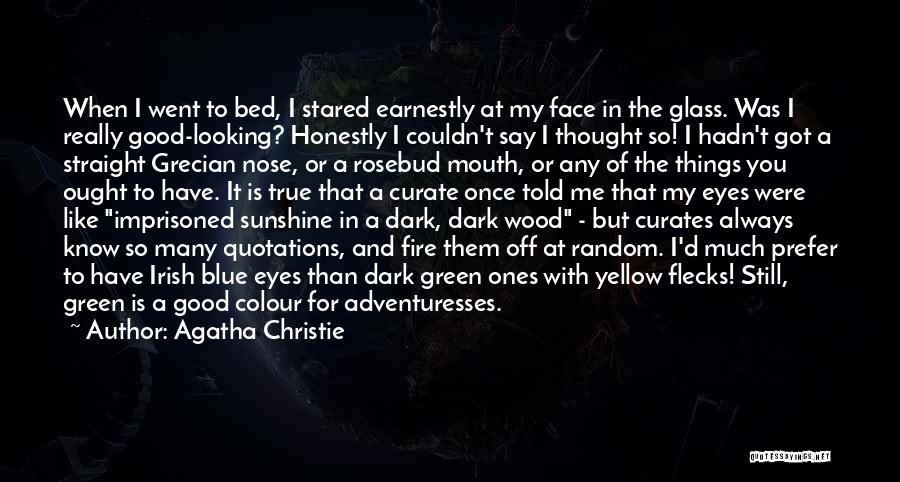 Blue Fire Quotes By Agatha Christie