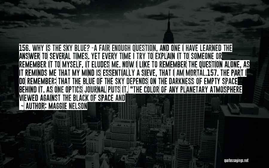 Blue Fire Quotes By Maggie Nelson
