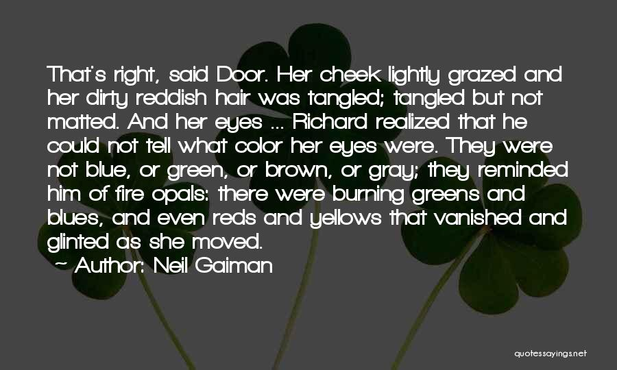 Blue Fire Quotes By Neil Gaiman