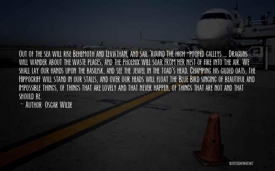 Blue Fire Quotes By Oscar Wilde
