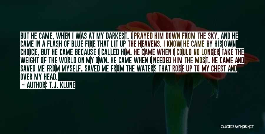 Blue Fire Quotes By T.J. Klune