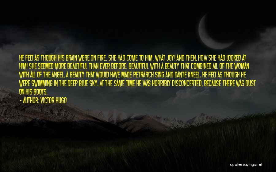 Blue Fire Quotes By Victor Hugo