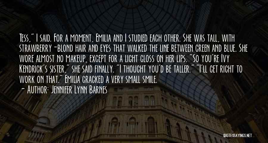 Blue Ivy Quotes By Jennifer Lynn Barnes
