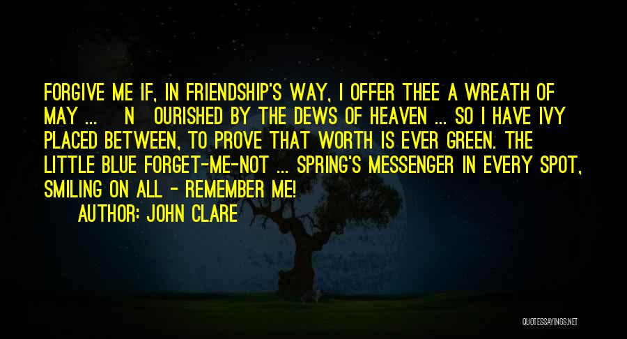 Blue Ivy Quotes By John Clare