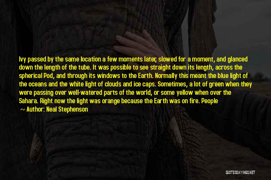 Blue Ivy Quotes By Neal Stephenson