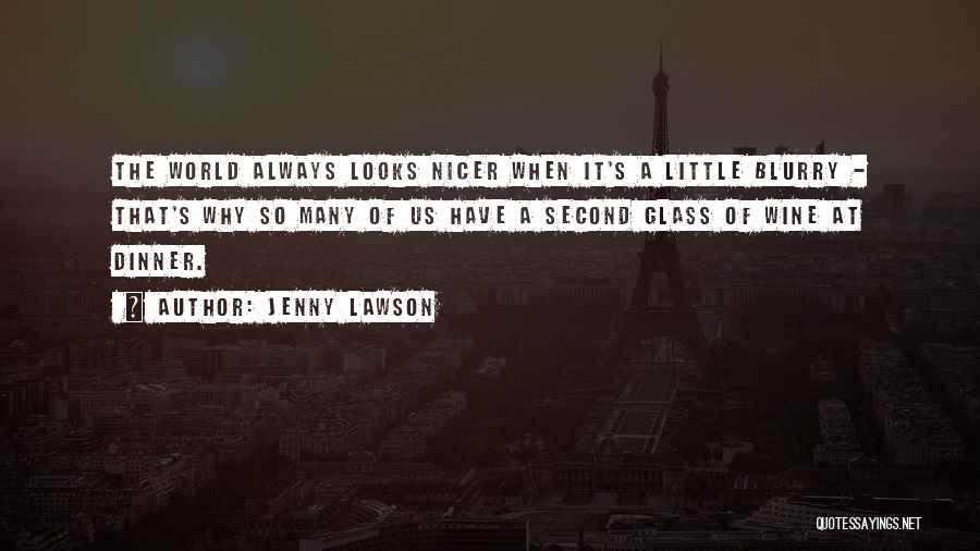 Blurry World Quotes By Jenny Lawson